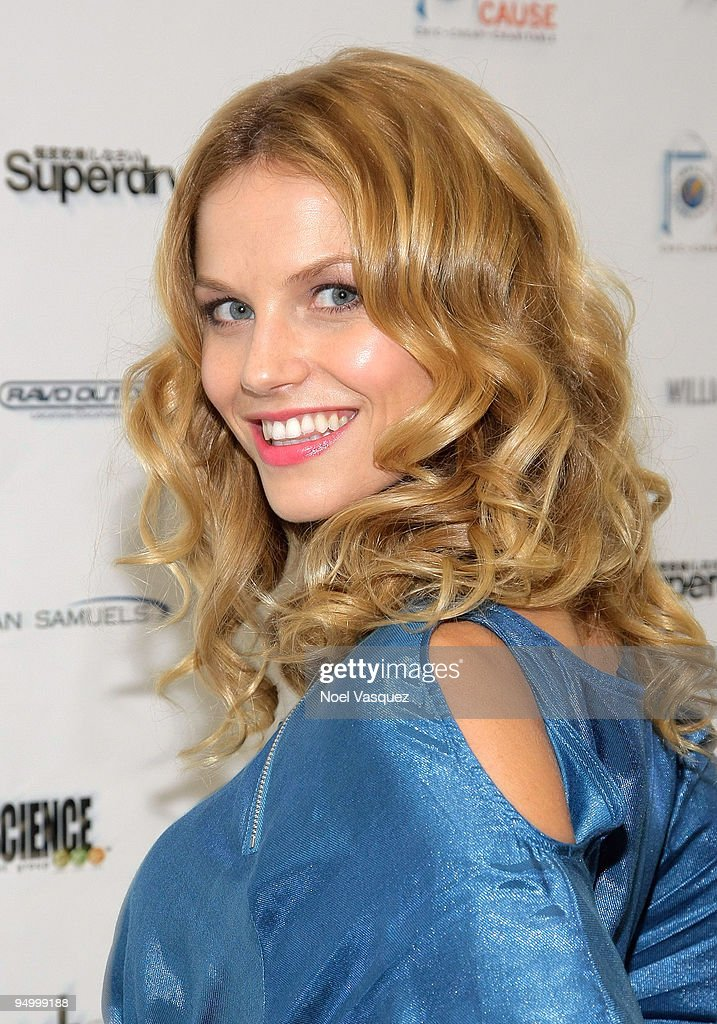 Ellen Hollman attends the Cambodian Children's Fund and Children Of The Night Holiday Charity event at Shop For A Cause Pop-Up Boutique on December 21, 2009 in West Hollywood, California.