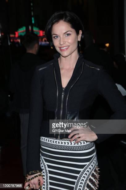 Ellen Hollman is seen on February 13, 2020 in Los Angeles, California.