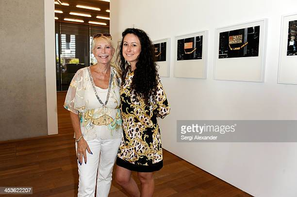 Ellen Jameson and Michelle Ruger attend the official ribbon cutting for the opening of the Perez Art Museum at PAMM Art Museum on December 4 2013 in...