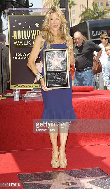 Ellen K attends the ceremony honoring her with a Star on The Hollywood Walk of Fame held on May 10 2012 in Hollywood California