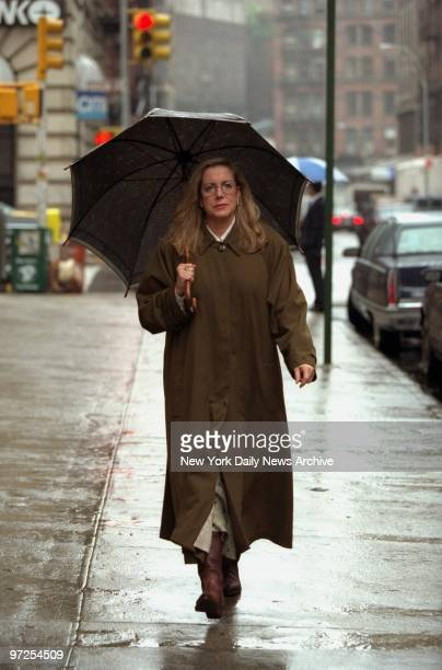 Ellen Levin head of Justice for All and mother of Jennifer Levin who was murdered by Robert Chambers in Central Park 10 years ago outside Socrates...