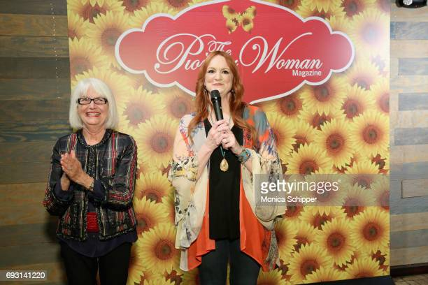 Ellen Levine and Ree Drummond speak during The Pioneer Woman Magazine Celebration with Ree Drummond at The Mason Jar on June 6, 2017 in New York City.