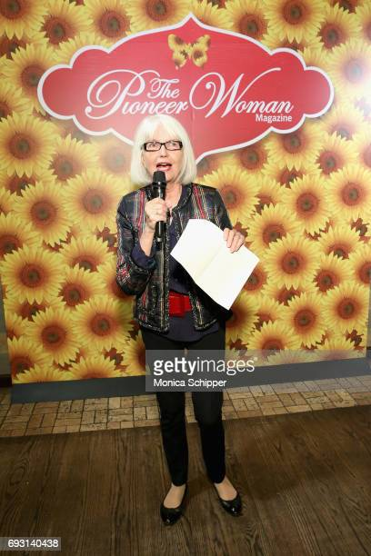 Ellen Levine speaks during The Pioneer Woman Magazine Celebration with Ree Drummond at The Mason Jar on June 6 2017 in New York City