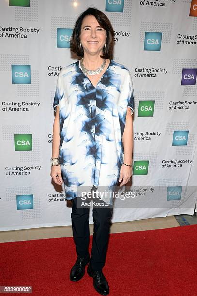 Ellen Lewis arrives to The Casting Society of America's 30th Annual Artios Awards Banquet at the Beverly Hilton Hotel Thursday evening