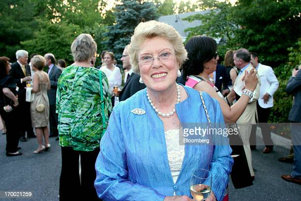 Ellen MacNeille Charles granddaughter of Marjorie Merriweather Post and president of the board of trustees of Hillwood Estate Museum and Gardens...