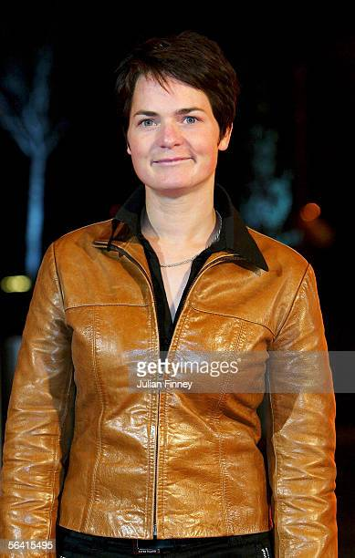Ellen McArthur arrives at the BBC Sports Personality of the Year Awards on December 11 2005 at the BBC Television Centre in London