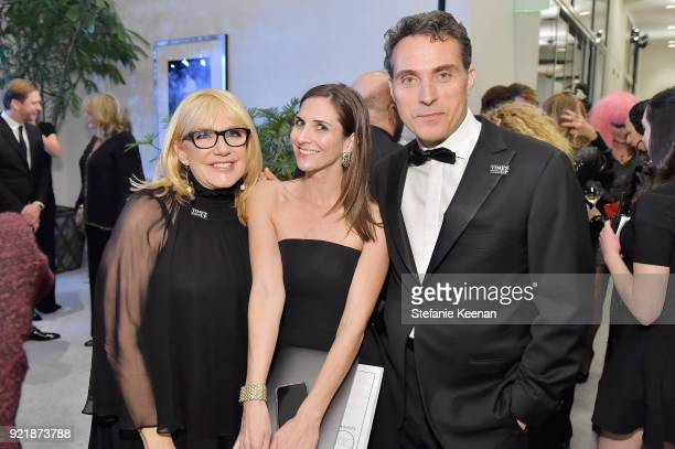 Ellen Mirojnick CDGA Executive Producer Sarah Cowperthwaite and actor Rufus Sewell attend the Costume Designers Guild Awards at The Beverly Hilton...