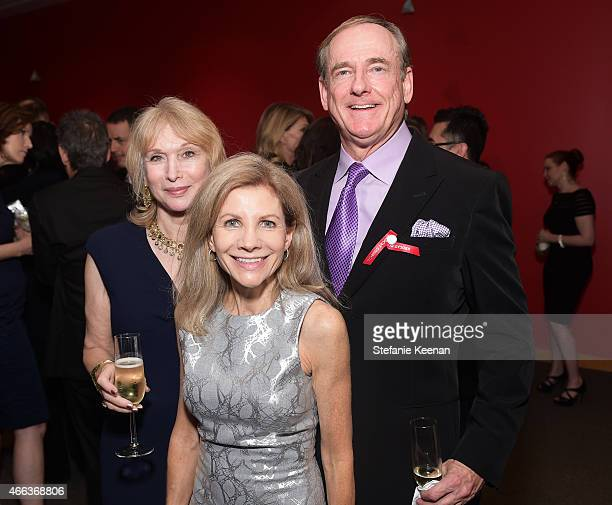 Ellen Olivier Jennifer Bella Maguire and R Stephen Maguire attend the 2015 REDCAT Gala Honoring Jamie And Michael Lynton And Gabriel Orozco at REDCAT...