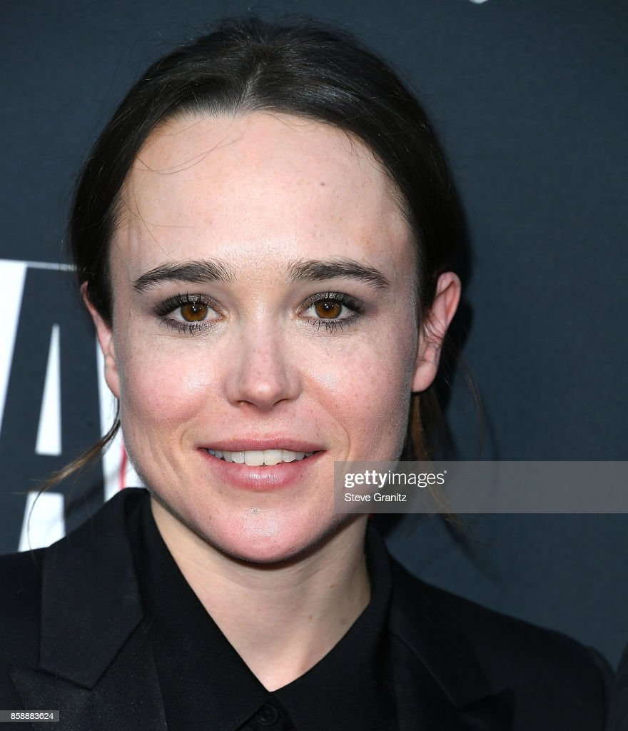 Ellen Page arrives at the L.A. Dance Project's Annual Gala at L.A. Dance Project on October 7, 2017 in Los Angeles, California.