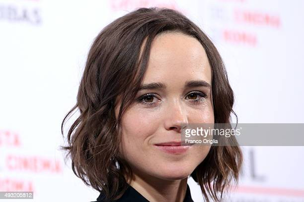 Ellen Page attends a photocall for 'Freeheld' during the 10th Rome Film Fest on October 18 2015 in Rome Italy