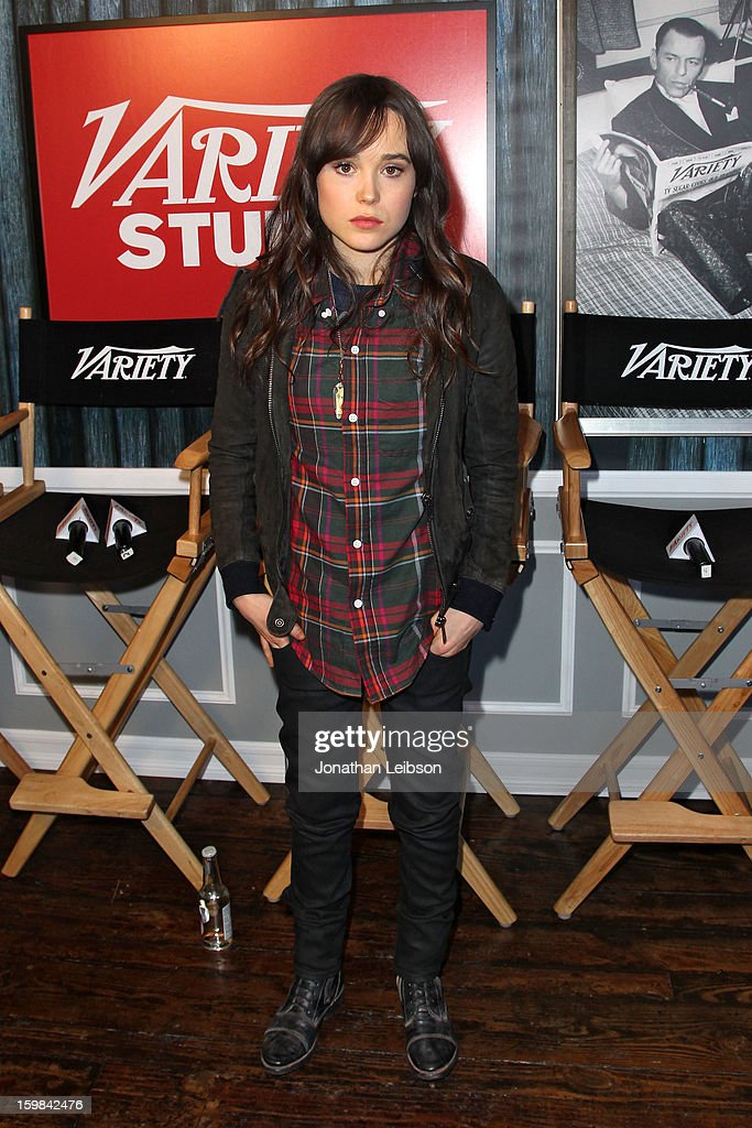 Ellen Page attends Day 3 of the Variety Studio At 2013 Sundance Film Festival on January 21, 2013 in Park City, Utah.