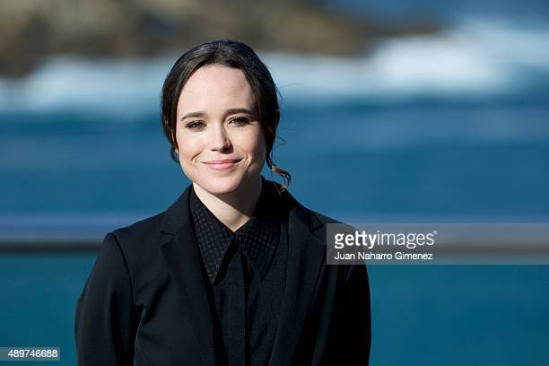 Ellen Page attends 'Freeheld' photocall during 63rd San Sebastian Film Festival on September 24, 2015 in San Sebastian, Spain.