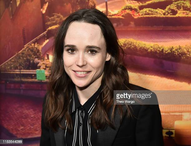 "Ellen Page attends ""Tales Of The City"" New York Premiere at The Metrograph on June 03, 2019 in New York City."