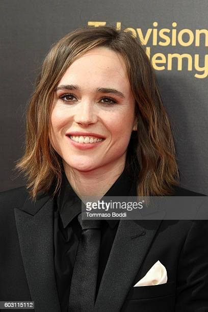 Ellen Page attends the 2016 Creative Arts Emmy Awards held at Microsoft Theater on September 11 2016 in Los Angeles California