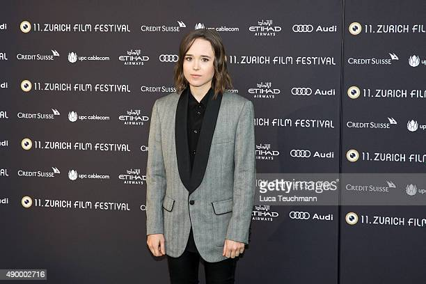 Ellen Page attends the 'Freeheld' Premiere during the Zurich Film Festival on September 25 2015 in Zurich Switzerland The 11th Zurich Film Festival...