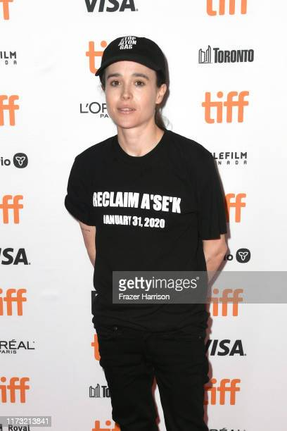 """Ellen Page attends the """"There's Something In The Water"""" premiere during the 2019 Toronto International Film Festival at The Elgin on September 08,..."""