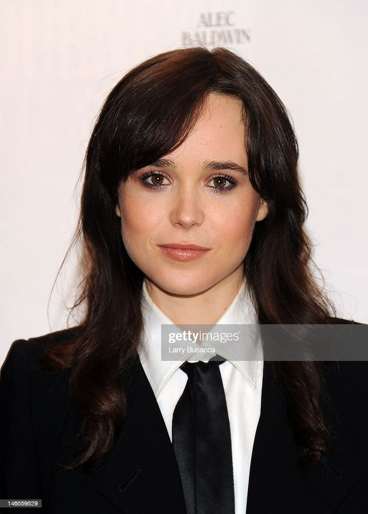 Ellen Page attends the 'To Rome With Love' Press Conference on June 19, 2012 in New York City.