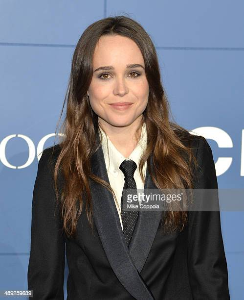 "Ellen Page attends the ""X-Men: Days Of Future Past"" world premiere at Jacob Javits Center on May 10, 2014 in New York City."