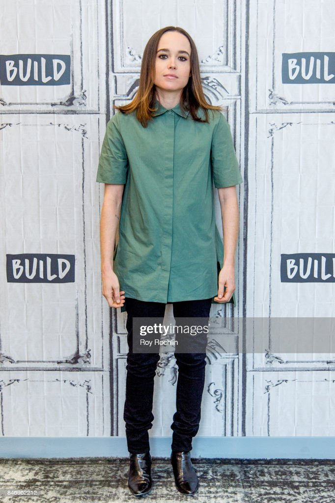 Ellen Page discusses 'Flatliners' with the Build Series at Build Studio on September 14, 2017 in New York City.