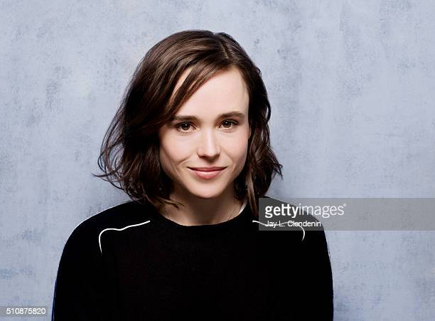 Ellen Page of 'Tallulah' poses for a portrait at the 2016 Sundance Film Festival on January 24 2016 in Park City Utah CREDIT MUST READ Jay L...