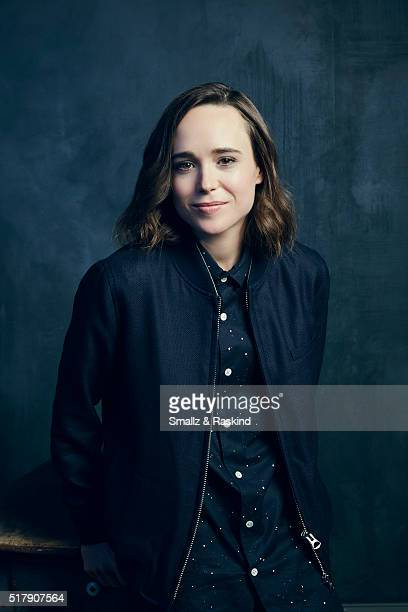 Ellen Page poses for a portrait in the Getty Images SXSW Portrait Studio Powered By Samsung on March 13, 2016 in Austin, Texas.