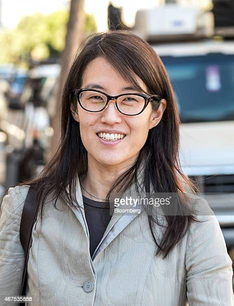 Ellen Pao former junior partner at Kleiner Perkins Caufield Byers exits state court in San Francisco California US on Wednesday March 25 2015 After...