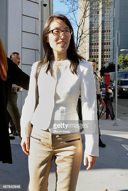 Ellen Pao former junior partner at Kleiner Perkins Caufield Byers exits state court in San Francisco California US on Friday March 27 2015 A jury...