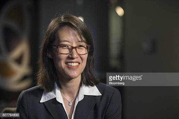 Ellen Pao former venture capitalist at Keiner Perkins Caufield and Byers and former interim chief executive officer of Reddit sits for a photograph...