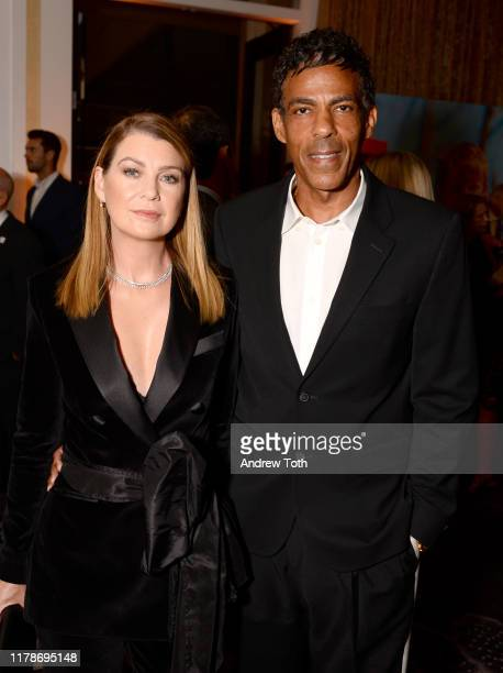Ellen Pompeo and Chris Ivery attend Save The Children's Centennial Celebration Once in a Lifetime at The Beverly Hilton Hotel on October 02 2019 in...