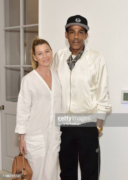 Ellen Pompeo and Chris Ivery attend The New Homefront by Windsor Smith on August 07 2019 in Brentwood California