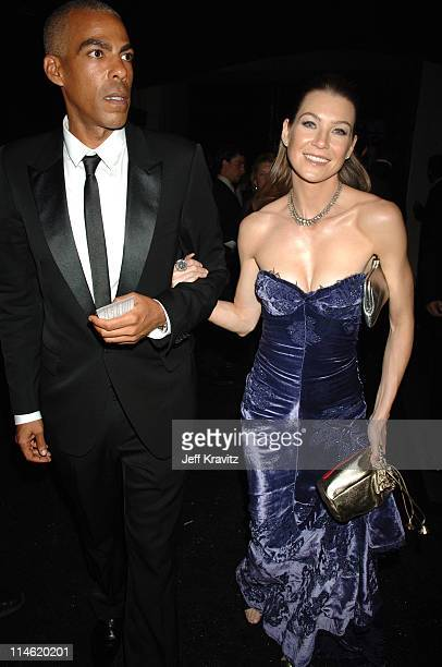Ellen Pompeo and Christopher Ivery during 58th Annual Primetime Emmy Awards Governors Ball at The Shrine Auditorium in Los Angeles California United...