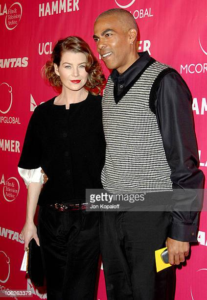 Ellen Pompeo and fiance Chris Ivery during Opening of the Billy Wilder Theater at the Hammer Museum at Billy Wilder Theater at the Hammer Museum in...