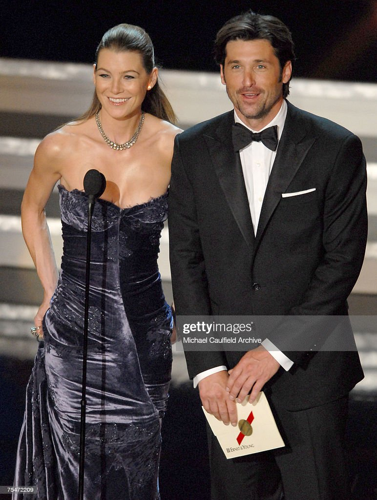 Ellen Pompeo And Patrick Dempsey Presenters At The Shrine