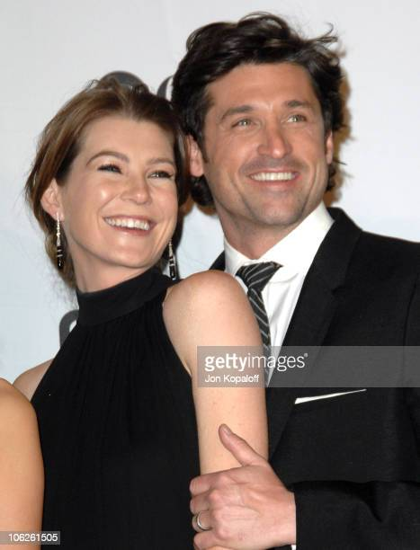 Ellen Pompeo and Patrick Dempsey winners Favorite TV Drama for Grey's Anatomy