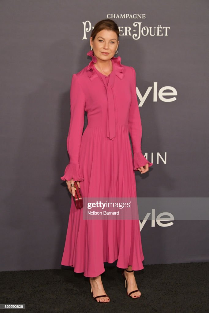 Ellen Pompeo attends 3rd Annual InStyle Awards at The Getty Center on October 23, 2017 in Los Angeles, California.