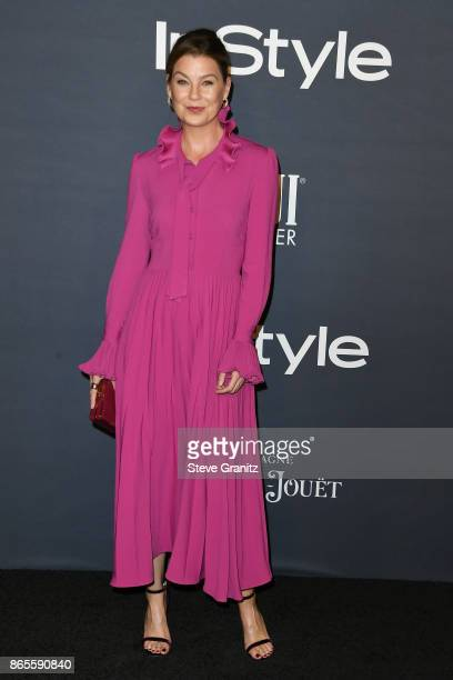 Ellen Pompeo attends 3rd Annual InStyle Awards at The Getty Center on October 23 2017 in Los Angeles California