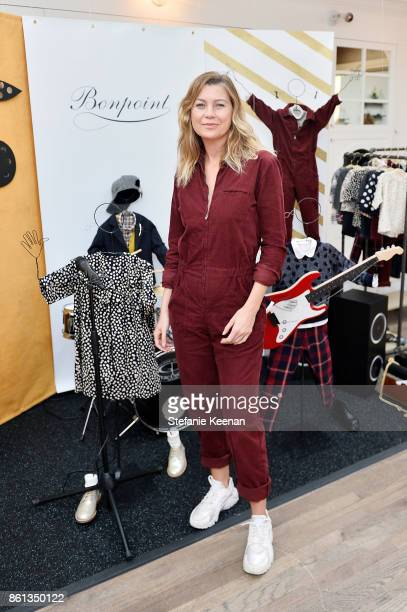 Ellen Pompeo attends Bonpoint Baby2Baby Celebrate At Au Fudge With Estee Stanley Kelly Sawyer Patricof And Norah Weinstein at Au Fudge Los Angeles on...