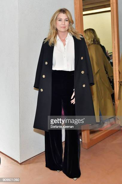 Ellen Pompeo attends Conde Nast The Women March's Cocktail Party to Celebrate the One Year Anniversary of the March the Publication of Together We...
