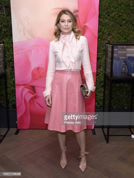 Ellen Pompeo attends ELLE's 25th Annual Women In Hollywood Celebration presented by L'Oreal Paris, Hearts On Fire and CALVIN KLEIN at Four Seasons...