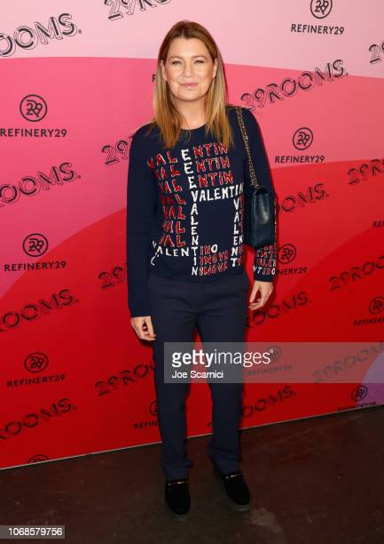 Ellen Pompeo attends Refinery29 Presents 29Rooms Los Angeles 2018 Expand Your Reality at The Reef on December 4 2018 in Los Angeles California