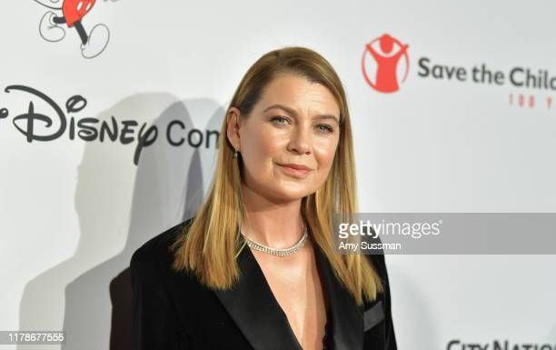 Ellen Pompeo attends Save The Children's Centennial Celebration Once In A Lifetime at The Beverly Hilton Hotel on October 02 2019 in Beverly Hills...