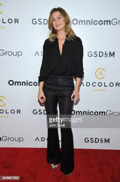 Ellen Pompeo attends the 11th Annual ADCOLOR Awards at Loews Hollywood Hotel on September 19, 2017 in Hollywood, California.