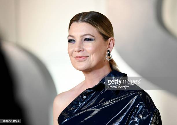 Ellen Pompeo attends the 2018 InStyle Awards at The Getty Center on October 22 2018 in Los Angeles California