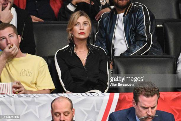 Ellen Pompeo attends The 67th NBA AllStar Game Team LeBron Vs Team Stephen at Staples Center on February 18 2018 in Los Angeles California