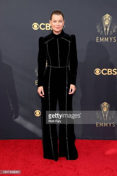 Ellen Pompeo attends the 73rd Primetime Emmy Awards at L.A. LIVE on September 19, 2021 in Los Angeles, California.