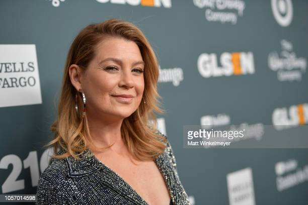Ellen Pompeo attends the GLSEN Respect Awards at the Beverly Wilshire Four Seasons Hotel on October 19, 2018 in Beverly Hills, California.