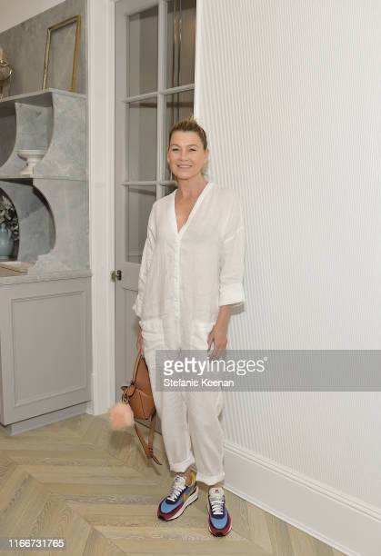 Ellen Pompeo attends The New Homefront by Windsor Smith on August 07 2019 in Brentwood California
