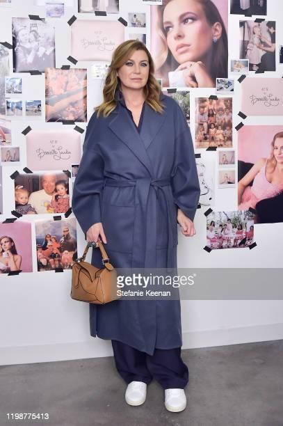 Ellen Pompeo attends VIOLET GREY'S Estée Lauder Act IV capsule makeup collection launch honoring Danielle Lauder on January 10 2020 in Los Angeles...