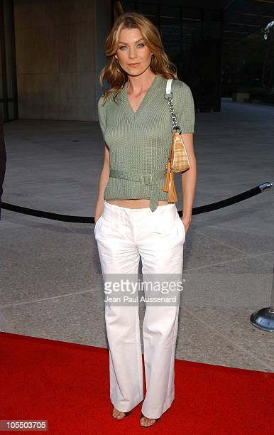 Ellen Pompeo during 2004 ABC All Star Summer Party at C2 Cafe in Century City California United States
