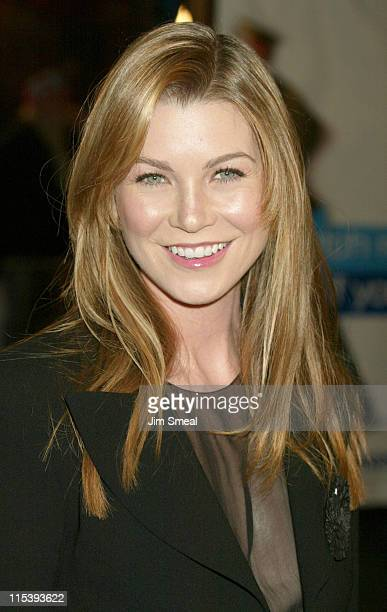 Ellen Pompeo during Catch Me If You Can Los Angeles Premiere at Mann Village Theatre in Westwood California United States